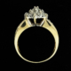 Beautiful 14k Gold & Genuine Diamond Estate Ring (Size 7) - Green Acres Antiques Marietta OH