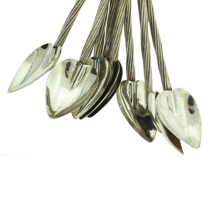 Fabulous Sterling Silver Iced Tea Spoons (Set of 8) - Green Acres Antiques Marietta OH