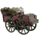 Vintage 1903 Clark Tin & Wood Toy Hill Climber Touring Car - Green Acres Antiques Marietta OH