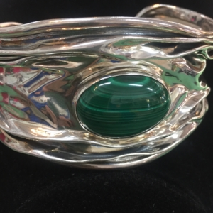 Malachite Bracelet - Green Acres Antiques Marietta OH